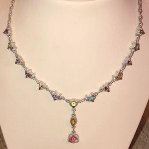 Judith Ripka Jewelry - Judith Ripka Multi Gemstone Y Necklace